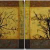 """Axioms & Idioms"" - Diptych 20 x 30-inch panels"