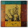 """Narratives II"" - Triptych 20 x 20-inch panels"