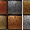 """Urban Patina"" - Six Panel (Metallic) 24 x 24-inch panels"