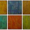 """Etched Rhythm"" - Six Panel 16 x 16-inch panels"