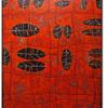 """Patterns - Cinnabar"" 30 x 40 inches"