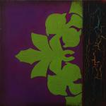 """Marigny"" - Triptych Panel 3  -  12 x 12 inches"